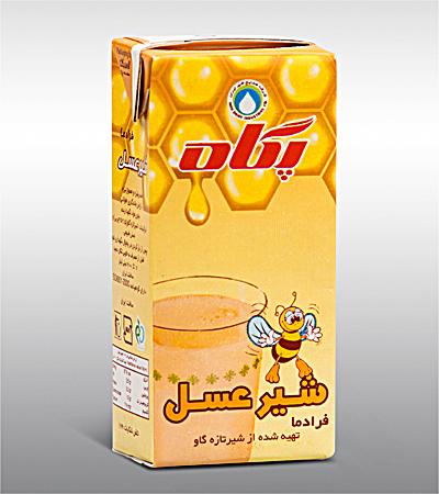 UHT Honey Milk(2.5% fat)(200cc)