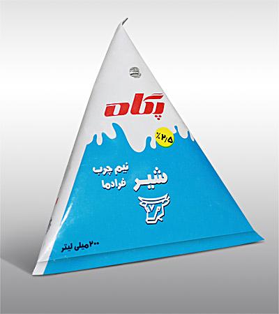 UHT Triangular Milk