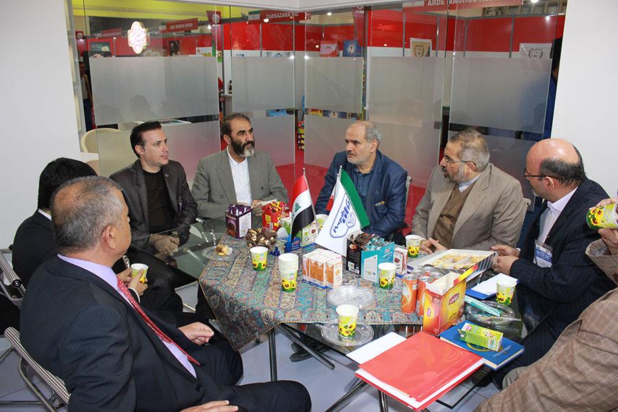 حضور پگاه در نمایشگاه بغداد