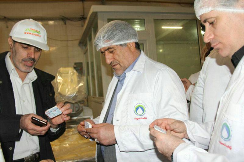 بازدید مدیرعامل شرکت بازرگانی دولتی ایران از پگاه تهران