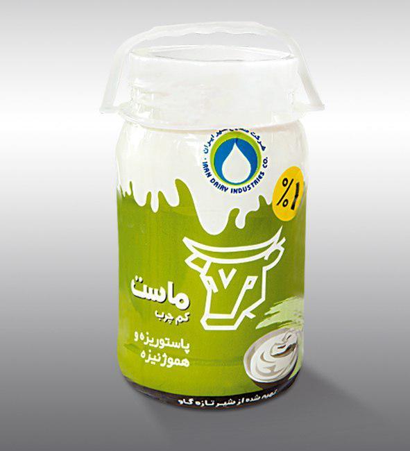 Semi fat Yoghurt